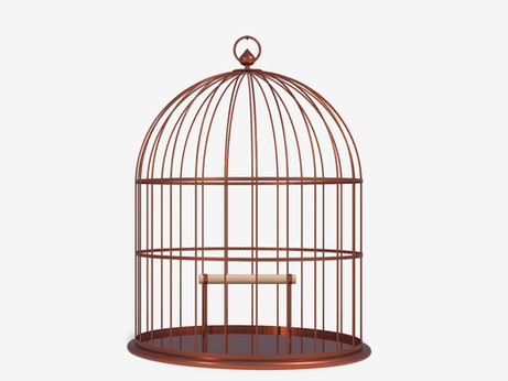 The cage door is always open...