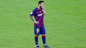 بعد الهزيمة من أتلتكو مدريد - ميسي : برشلونة ارتكب أخطاء طفولية وهو الآن في موقف صعب.