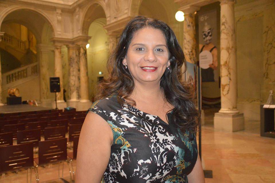 Idealizadora do Festival e fundadora da Associação PAPAGAIO, a pedagoga Vanessa Noronha Tölle,
