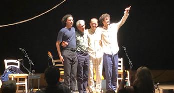 Caetano, Moreno, Zeca & Tom Veloso e o Show Ofertório estão em turnê pela Europa