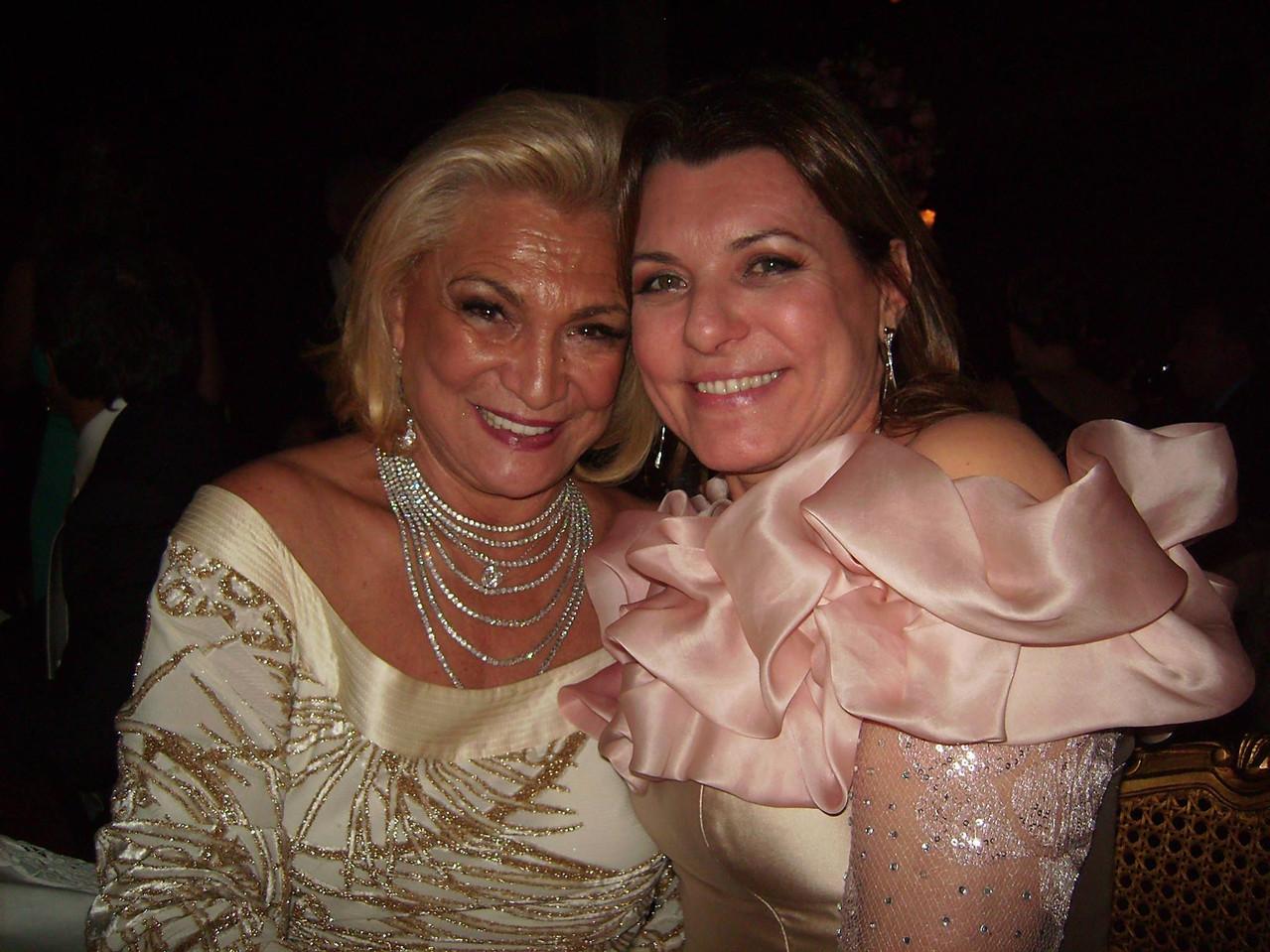 Hebe Camargo e Olga Bongiovanni