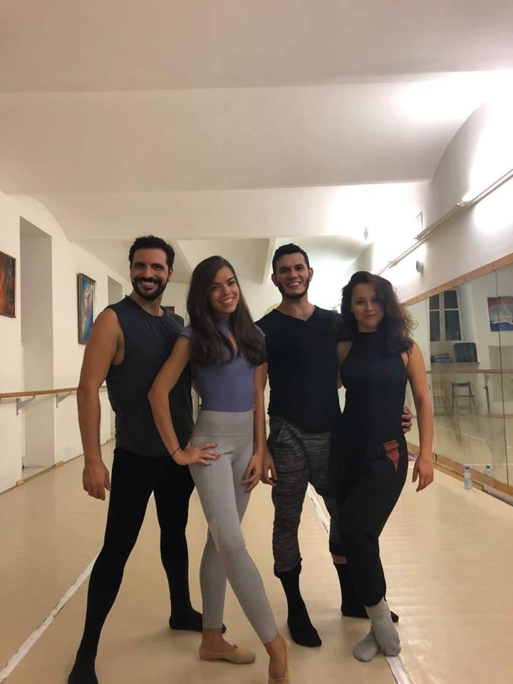 Bailarinos: Patrícia Brandão, Hannah