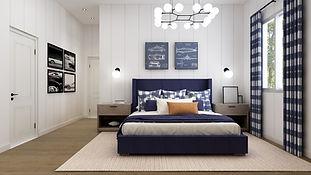 Modern Farmhouse Boy Bedroom
