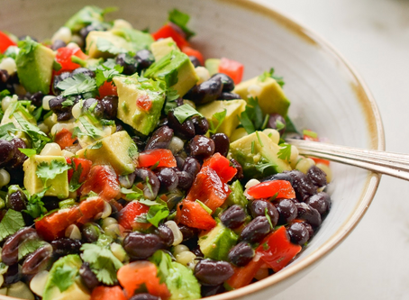 WOW Recipe: Warm Black Bean Salad
