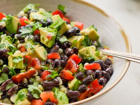 WOW Recipe: Warm Black Bean Salad