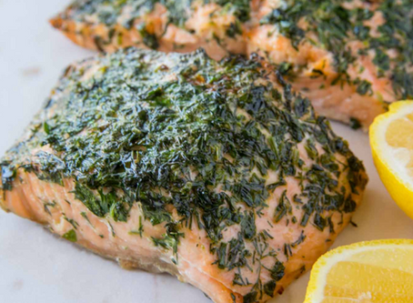 WOW Recipe: Salmon with Dill