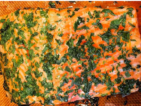 Recipe Obsessed: Chili Cilantro Steelhead Trout