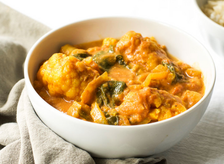 WOW Recipe: Chicken Curry with Chickpeas and Cauliflower