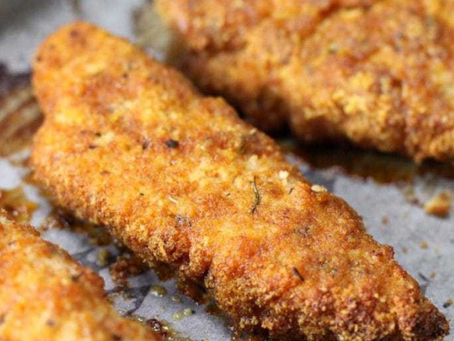 WOW Recipe: Oven Baked Parmesan Chicken Tenders