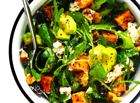 WOW Recipe: Arugula, Avocado and Butternut Squash Salad with Curry Vinaigrette