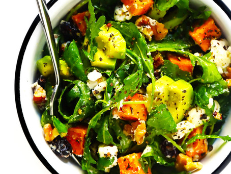 WOW Recipe: Arugula, Avocado and Butternut Squash Salad with Curry Vinaigrette