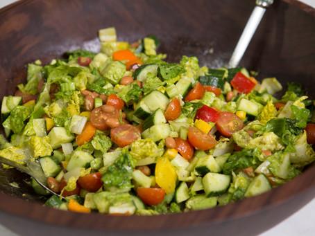 WOW Recipe: Tex-Mex Chopped Salad with Lime Cilantro Vinaigrette