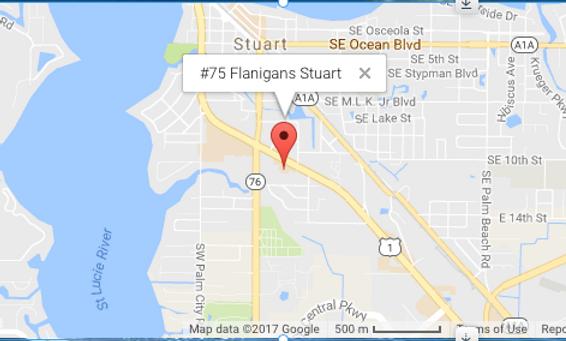 #75 Flanigans Stuart