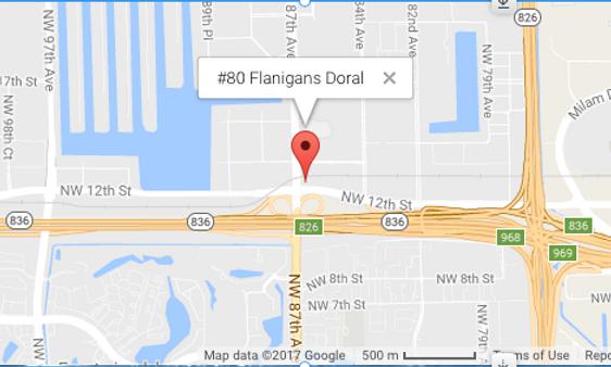 #80 Flanigans Doral