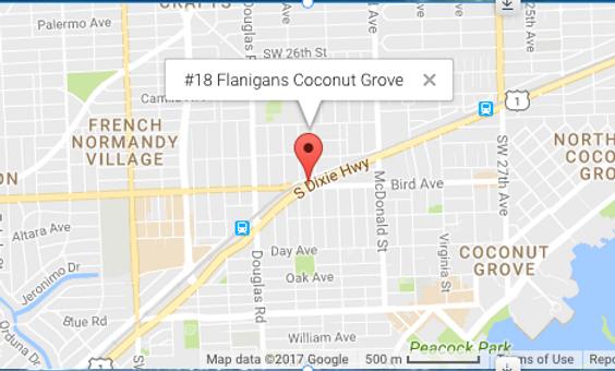 #18 Flanigans Coconut Grove