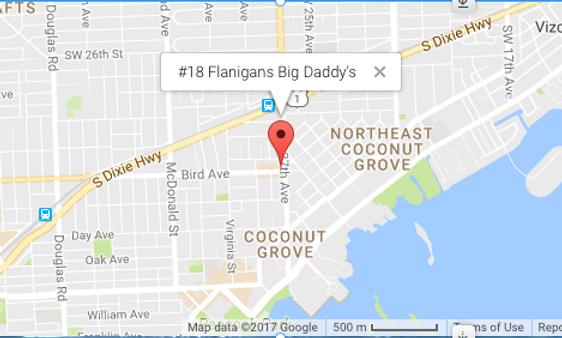 #18P Flanigans Big Daddy's
