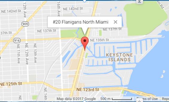 #20 Flanigans North Miami