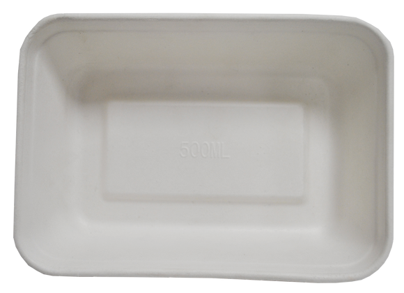 CONTENEDOR RECTANGULAR 500 ML