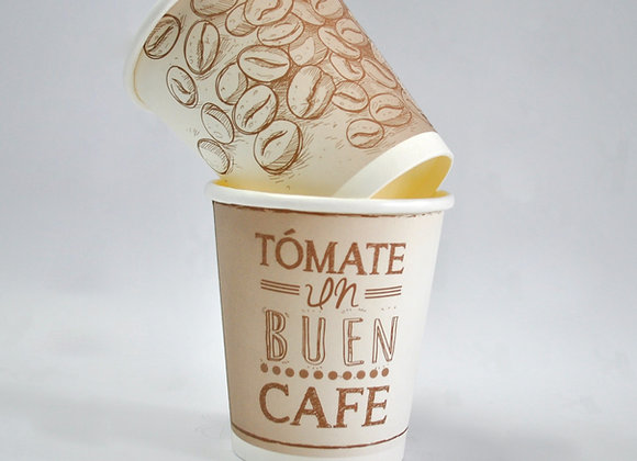 VASO 4 OZ GENÉRICO CAFÉ