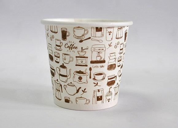 VASO 7 OZ CAFÉ COFFEE