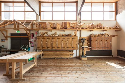 Zimmerei Werkstatt TFBS Holz