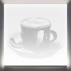 Quadratlicht-Laser-Espressotasse