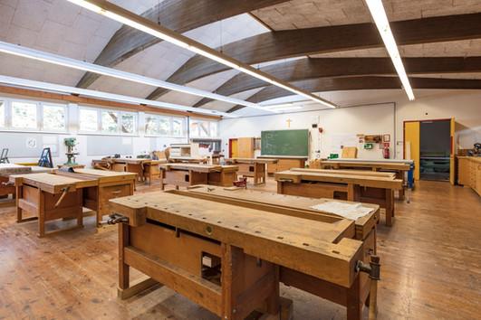 Werkraum der Tischlerei