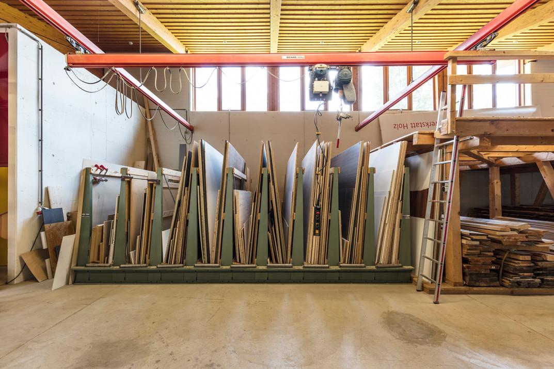 Holzlager TFBS Holztechnik