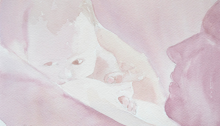 Geburtsvorbereitung, Erika Senn