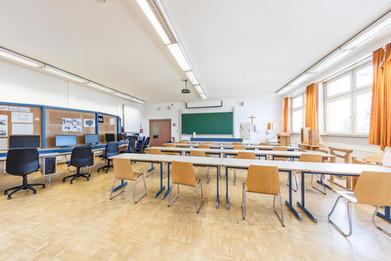 Klassenraum TFBS Holztechnik