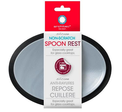 Non-Scratch Spoon Rest Black