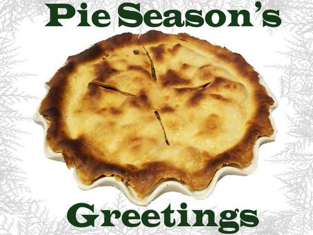 Pie Season is Here