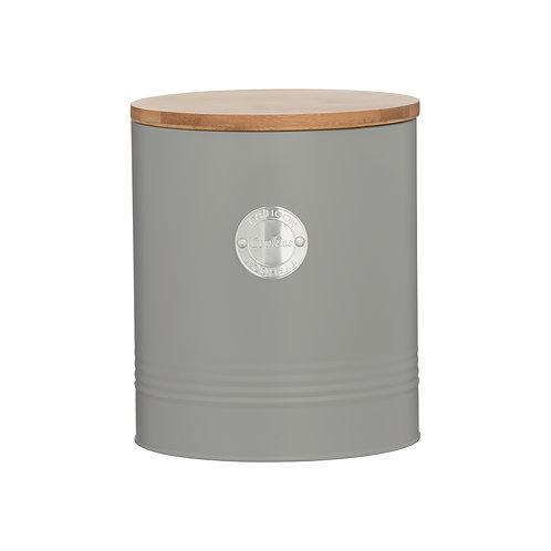 Living Grey Cookie Jar