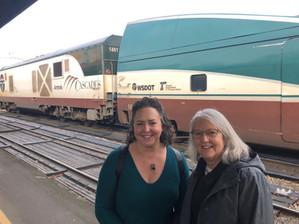 Darcy and Erica Train to Portland.jpg