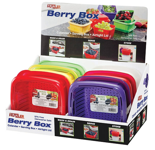 Hutzler Berry Box, Display of 6