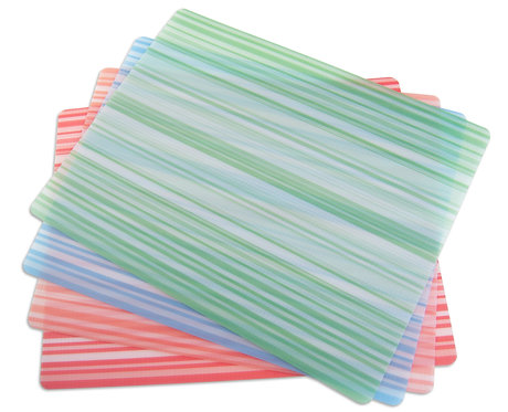 Flexible Chopping Mats, Set of 4, Assorted Colors