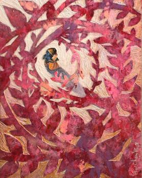 The dream of rosa multiflora 17.8x22.6cm