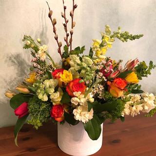 spring flowers $75