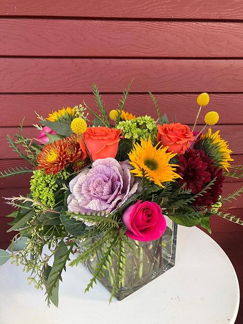 Thanksgiving floral arrangement - sold out