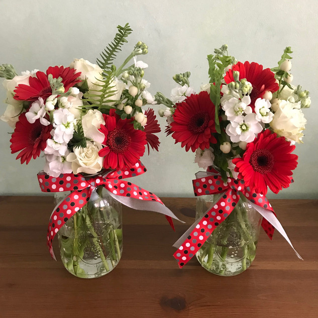 spring red & white $25