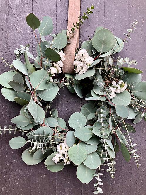 simply eucalyptus wreath