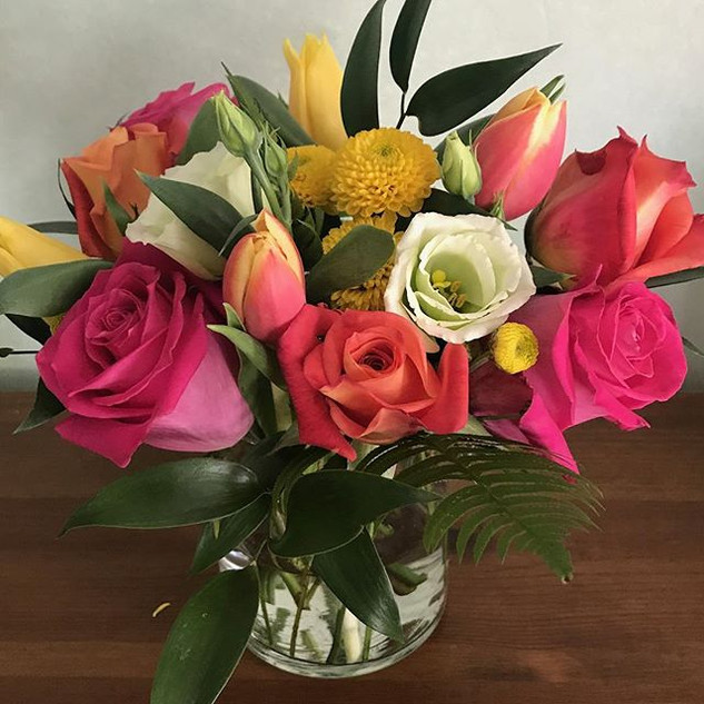 spring tulips! $75