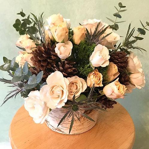 Hanukkah floral arrangement