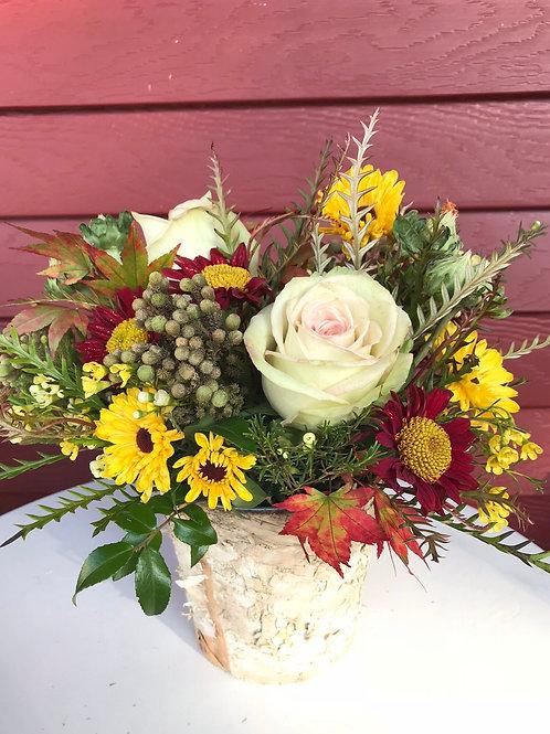 Wednesday November 18th ~ fall flowers