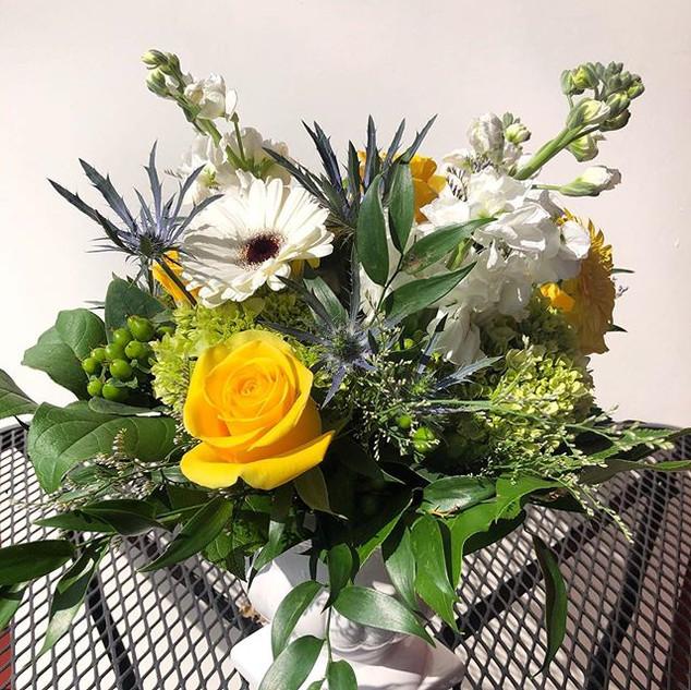 happy flowers $25