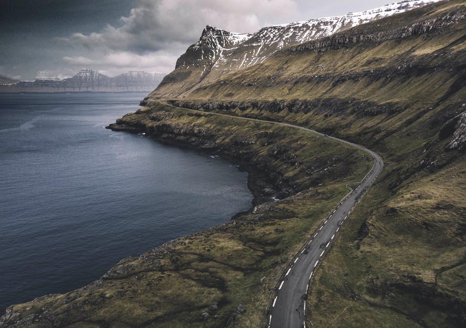 Faroe Islands road