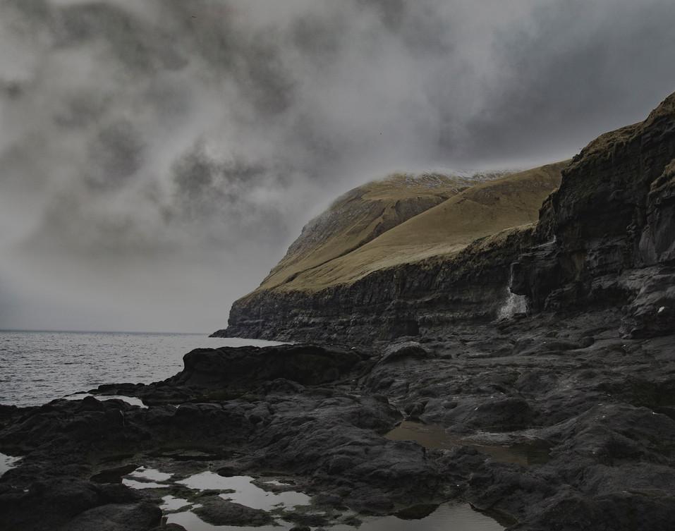 Cliffs on Kalsoy
