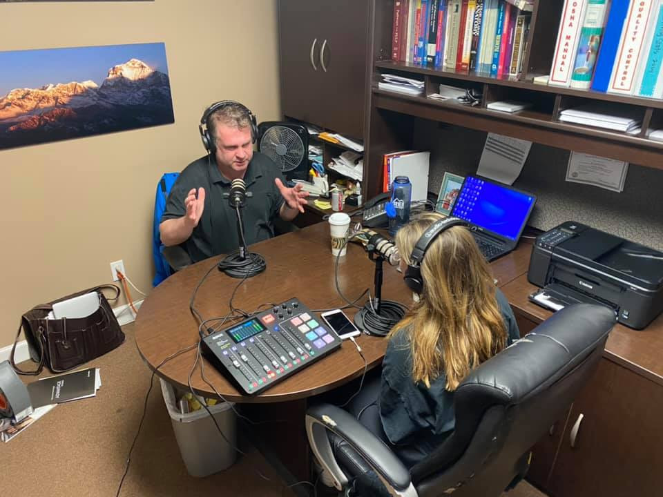 MAtt McGee discusses underwater photography on Mornings with Mike podcast