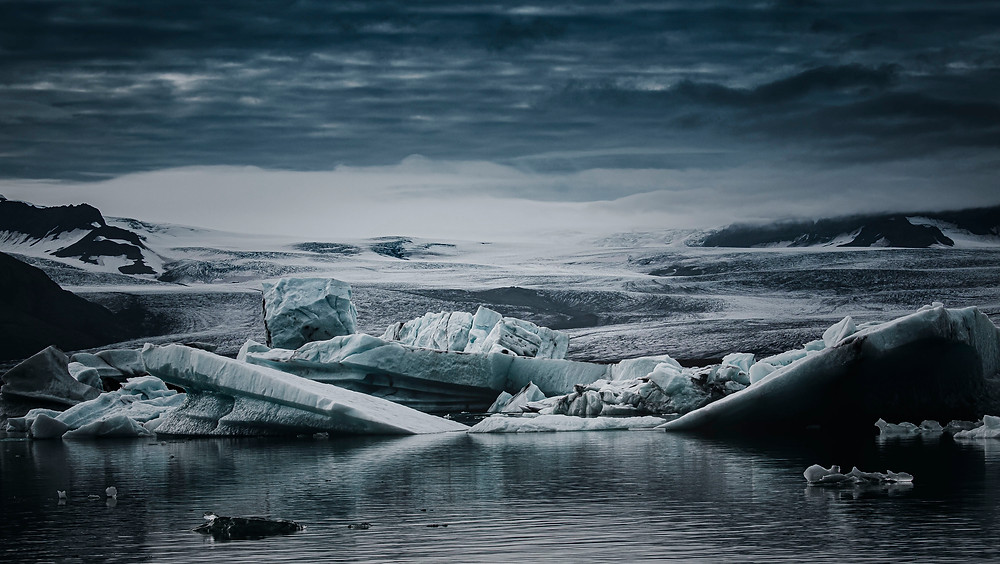 Landscape photogrpaher Matt McGee photo of the glacier lagoon in Icealnd