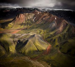 Landmannalaugar landscape photography by Matt McGee